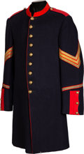 Military & Patriotic:Indian Wars, 1885-Pattern 9-Button Dress Coat for a Sergeant of Artillery....