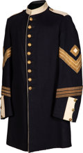 Military & Patriotic:Indian Wars, Splendid 1885 Dress Coat for 1st Sergeant of Infantry....