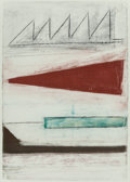 Fine Art - Work on Paper:Drawing, Attributed to Michael Volonakis (American, 20th Century).Offering I, 1980. Pastel on paper. 25 x 37-1/2 inches (63.5x ...