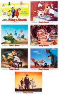 Animation Art:Poster, Song of the South/The Aristocats Reissue Lobby Card Sets(Walt Disney, 1972).... (Total: 13 Items)