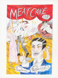Original Comic Art:Covers, Dame Darcy Meat Cakes #8 Cover Original Art (Fantagraphics, 1998)....