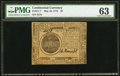 Colonial Notes:Continental Congress Issues, Continental Currency May 10, 1775 $7 PMG Choice Uncirculated 63.....