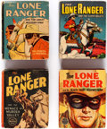 Big Little Book:Miscellaneous, Big Little Book - Lone Ranger Group of 9 (Whitman, 1935-50) Condition: Average VG+.... (Total: 9 Items)