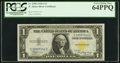 Small Size, Fr. 2306 $1 1935A North Africa Silver Certificate. PCGS Very Choice New 64PPQ.. ...