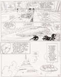 Original Comic Art:Panel Pages, Moebius L'Incal Noir Planche 25 (Humanoïdes Associés, 1991)....