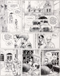 Original Comic Art:Panel Pages, Enki Bilal La Ville qui n'existait pas Planche 9 (Dargaud,1977)....