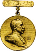 Military & Patriotic:Spanish American War, Spanish-American War Dewey Medal Named to Landsman Otto Hearik Who Served Aboard the USS Olympia During the Battle...