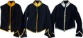 Militaria:Uniforms, Lot of 3 Civil War Enlisted Cavalry Shell Jackets.... (Total: 3 Items)