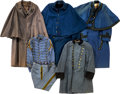 Militaria:Uniforms, Lot of 5 Militia & Great Cadet Coats / Uniforms.... (Total: 5Items)