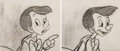 Animation Art:Production Drawing, Pinocchio Storyboard Art Group of 2 (Walt Disney, 1940).... (Total: 2 Items)