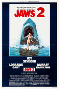 """Movie Posters:Horror, Jaws 2 (Universal, 1978). One Sheet (27"""" X 41"""") Lou Feck Artwork. Horror.. ..."""