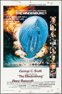 "The Hindenburg & Others Lot (Universal, 1975). One Sheets (7) (27"" X 41"") Blue Style with George Akimoto A..."