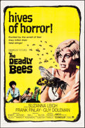 "Movie Posters:Horror, The Deadly Bees (Paramount, 1967). One Sheet (27"" X 41""). Horror....."