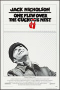 "Movie Posters:Academy Award Winners, One Flew Over the Cuckoo's Nest (United Artists, 1975). One Sheet(27"" X 41""). Academy Award Winners.. ..."