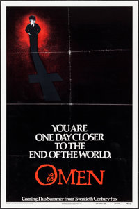 "The Omen (20th Century Fox, 1976). One Sheet (27"" X 41"") Style A. Horror"