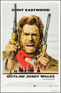 "Movie Posters:Western, The Outlaw Josey Wales (Warner Brothers, 1976). Folded, Fine/Very Fine. One Sheet (27"" X 41""). Western.. ..."