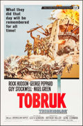 """Movie Posters:War, Tobruk & Other Lot (Universal, 1967). One Sheets (2) (27"""" X41"""") Frank McCarthy Artwork. War.. ... (Total: 2 Items)"""