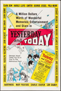 """Yesterday and Today & Other Lot (United Artists, 1953). One Sheet (27"""" X 41""""). Documentary. ... (Total: 2..."""
