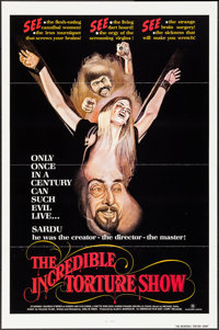 "The Incredible Torture Show & Others Lot (AFDC, 1976). One Sheets (10) (27"" X 41"", 41.5""). Horror..."