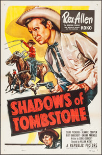 """Shadows of Tombstone (Republic, 1953). One Sheets (5) Identical (27"""" X 41""""). Western. ... (Total: 5 Items)"""