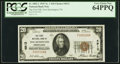 National Bank Notes, New Kensington, PA - $20 1929 Ty. 1 The First NB Ch. # 4913. ...