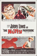 Movie Posters:Comedy, The Nutty Professor (Paramount, 1963). Folded, Very Fine-....