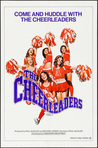 """The Cheerleaders & Other Lot (Cinemation Industries, 1973). One Sheets (2) (27"""" X 41""""). Sexploitation..."""