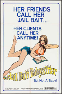 """Jail Bait Babysitter & Other Lot (Empire, 1977). One Sheets (2) (27"""" X 41""""). Sexploitation. ... (Total: 2..."""