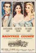 "Movie Posters:Romance, Raintree County (MGM, 1957). One Sheet (27"" X 41""). Romance.. ..."