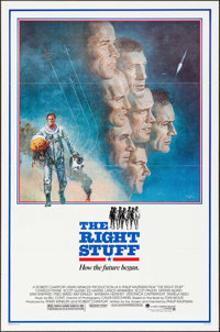 """The Right Stuff (Warner Brothers, 1983). One Sheet (27"""" X 41"""") Tom Jung Artwork. Adventure"""