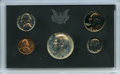Five-Piece 1970-S Proof Set Featuring a No S Dime. An intact five-piece 1970-S proof set in its government-issued plasti...