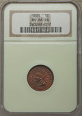 Indian Cents: , 1885 1C MS66 Red and Brown NGC. NGC Census: (19/1). PCGS Population: (14/0). Mintage 11,765,384. ...