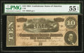 Confederate Notes, T68 $10 1864 PF-20 Cr. 546.. ...