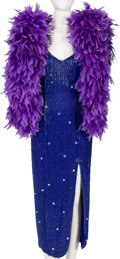 Music Memorabilia:Costumes, Connie Francis Evening Gown Worn Onstage at The Sands Hotel in Las Vegas (1992)....