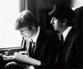 Music Memorabilia:Photos, Beatles - Four Astrid Kirchherr Photographs of the Beatles...