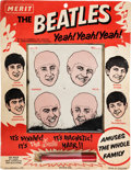 Music Memorabilia:Memorabilia, Beatles Magnetic Hair Game Complete with Wand by Merit (NEMS,1964)....