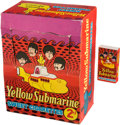 Music Memorabilia:Memorabilia, Beatles Yellow Submarine Sweet Cigarettes Box with Store Counter Display Box (UK, 1968). ...