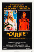 Movie Posters:Horror, Carrie & Other Lot (United Artists, 1976). Folded, Very Fi...
