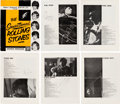 Music Memorabilia:Autographs and Signed Items, Rolling Stones Signed Souvenir Program (UK, 1964)....