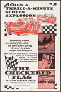"Movie Posters:Sports, The Checkered Flag (Motion Picture Investors, 1963). One Sheet (27"" X 41""). Sports.. ..."