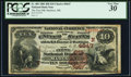 National Bank Notes:Maine, Madison, ME - $10 1882 Brown Back Fr. 485 The First NB Ch. #(N)4647 PCGS Very Fine 30.. ...