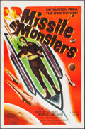 "Movie Posters:Science Fiction, Missile Monsters (Republic, 1958). One Sheets (5) Identical (27"" X41""). Science Fiction.. ... (Total: 5 Items)"