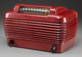 Decorative Arts, Continental:Other , A Stromberg-Carlson Dynatomic 1500-H Bakelite AM Radio,circa 1946. 7-1/8 h x 12-1/4 w x 7-1/4 d inches (18.1 x ...