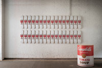 After Andy Warhol (American, 1928-1987) Campbell's Soup Cans Set of 32 decks 31 x 8 inches (78.7