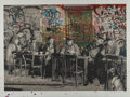 Prints & Multiples, Mr. Brainwash (French, b. 1966). Le Bistro, 2008. Screenprint in colors on paper. 19-3/4 x 28 inches (50.2 x 71.1 cm) (i...