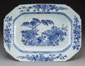 Asian:Chinese, A Chinese Canton Export Blue and White Porcelain Platter, 19thcentury. 11-3/4 inches high x 15-3/4 inches wide (29.8 x 40.0...