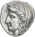 Ancients:Greek, Ancients: PHOCIS. Delphi. Ca. 338-334 BC. AR stater (24mm, 12.29 gm, 6h). NGC (photo-certificate) AU ★ 5/5 - 5/5, Fine Style....