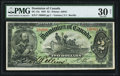 Canadian Currency, DC-14c $2 1897.. ...