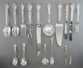 Silver Flatware, American:Gorham, A One Hundred and Forty-Five Piece Gorham Melrose PatternSilver Flatware Service, Providence, Rhode Island, des... (Total:145 Items)