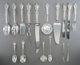 A One Hundred and Forty-Five Piece Gorham Melrose Pattern Silver Flatware Service, Providence, Rhode Island, des... (Tot...
